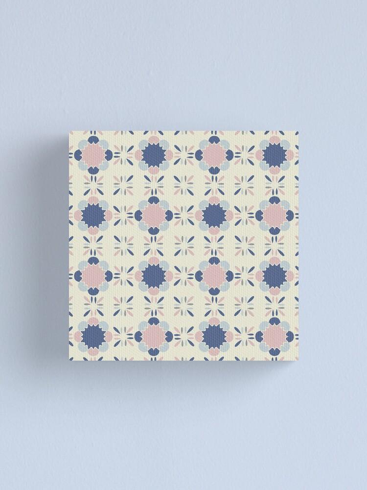 Alternate view of Pastel Tile  Canvas Print
