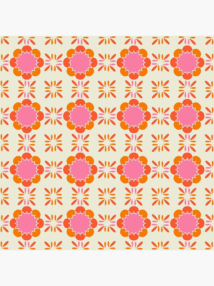 Sixties Tile  by caligrafica