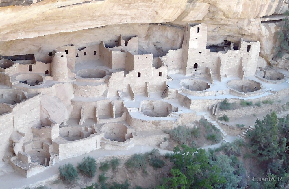 Pueblo on the Edge of Forever by EwanRGR