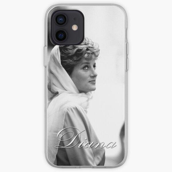 HRH Princess Diana - Professional Photo iPhone Soft Case