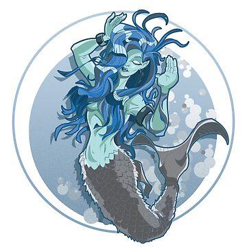 Mermaid by doodlebags