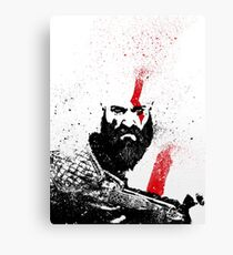 Kratos (God of War) Canvas Print