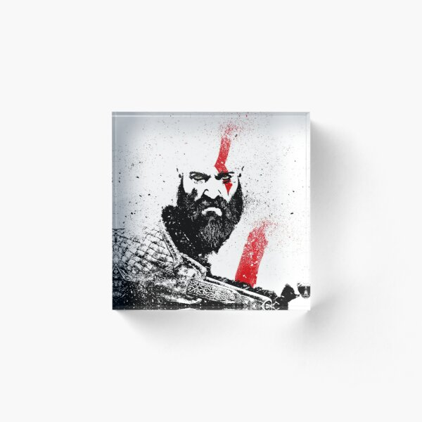 Kratos (God of War) Acrylic Block