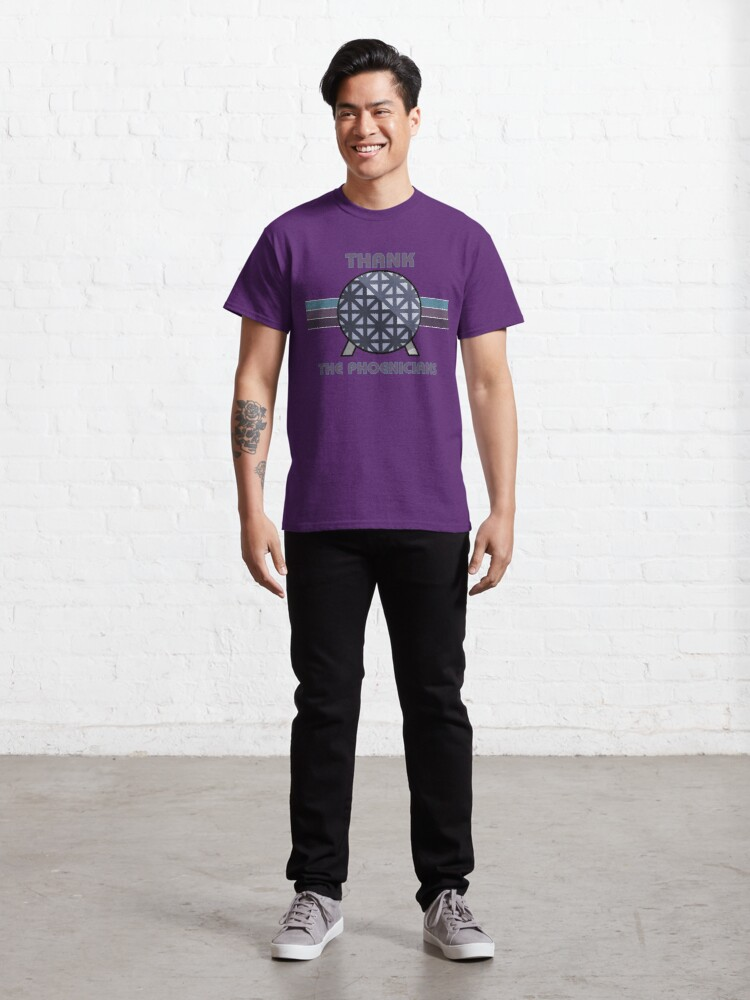 Alternate view of Thank the Phoenicians Classic T-Shirt