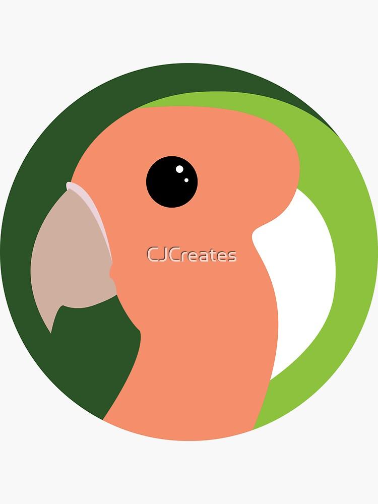 Lovey Dovey Lovebird by CJCreates
