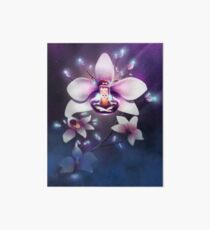 Orchideen Meditation Galeriedruck