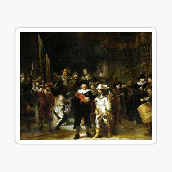Rembrandt The Nightwatch Sticker