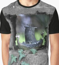 Ship Model, Storm Graphic T-Shirt