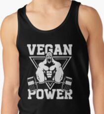 Vegan Power Workout Muscle Gorilla Bodybuilding Tank Top