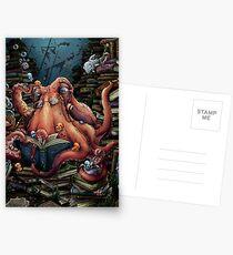 Großvater Octopus Postkarten