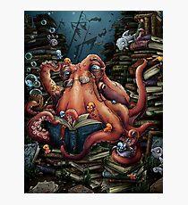 Grandpa Octopus Photographic Print