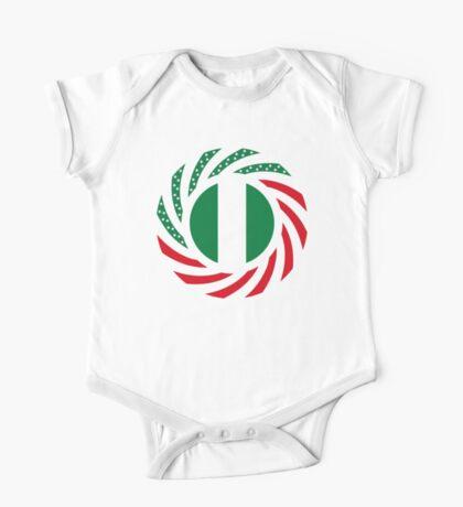 Nigerian American Multinational Patriot Flag Series Kids Clothes