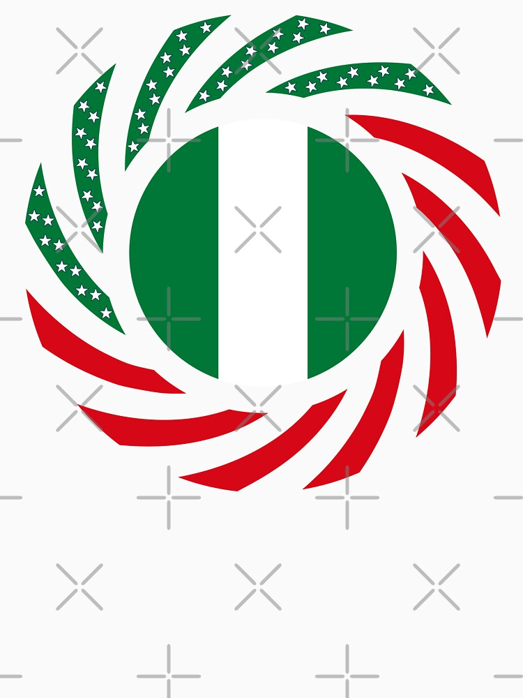 Nigerian American Multinational Patriot Flag Series by carbonfibreme