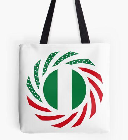Nigerian American Multinational Patriot Flag Series Tote Bag