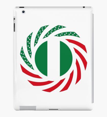 Nigerian American Multinational Patriot Flag Series iPad Case/Skin