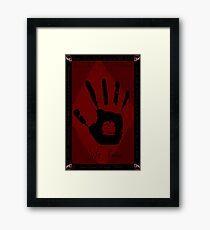 Dark Brotherhood Framed Print