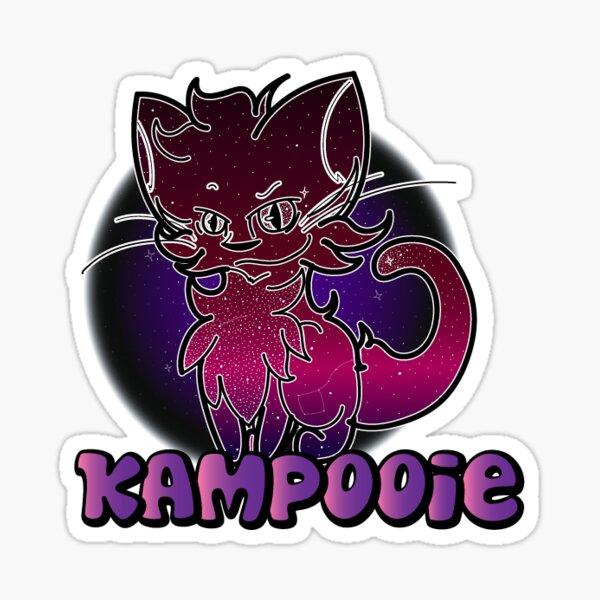 Kampooie- BUSINESS LOGO Sticker