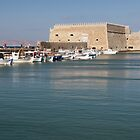 Koules Fortress, Heraklion, Crete by Kasia-D