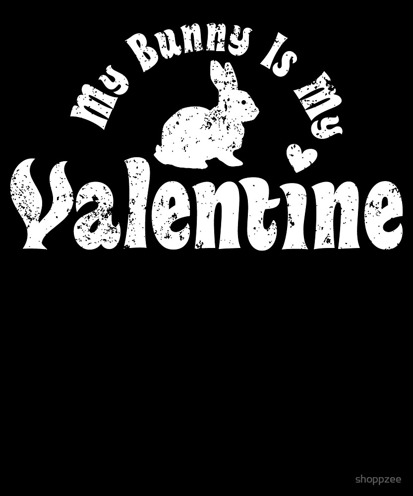 My Anti Valentine Pet Bunny Zoology Zoologist by shoppzee