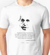 Albert Einstein Imagination Unisex T-Shirt