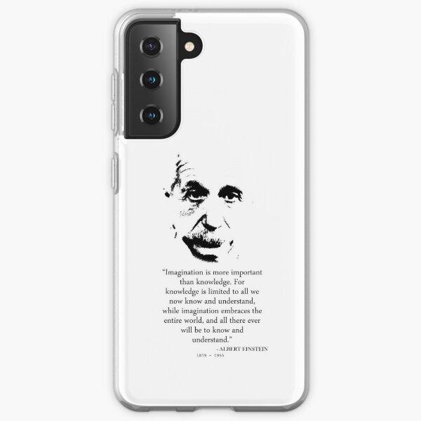 Albert Einstein Imagination Samsung Galaxy Soft Case