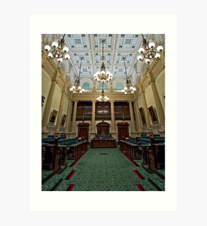 The House of Assembly Art Print