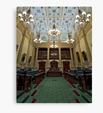 The House of Assembly Canvas Print