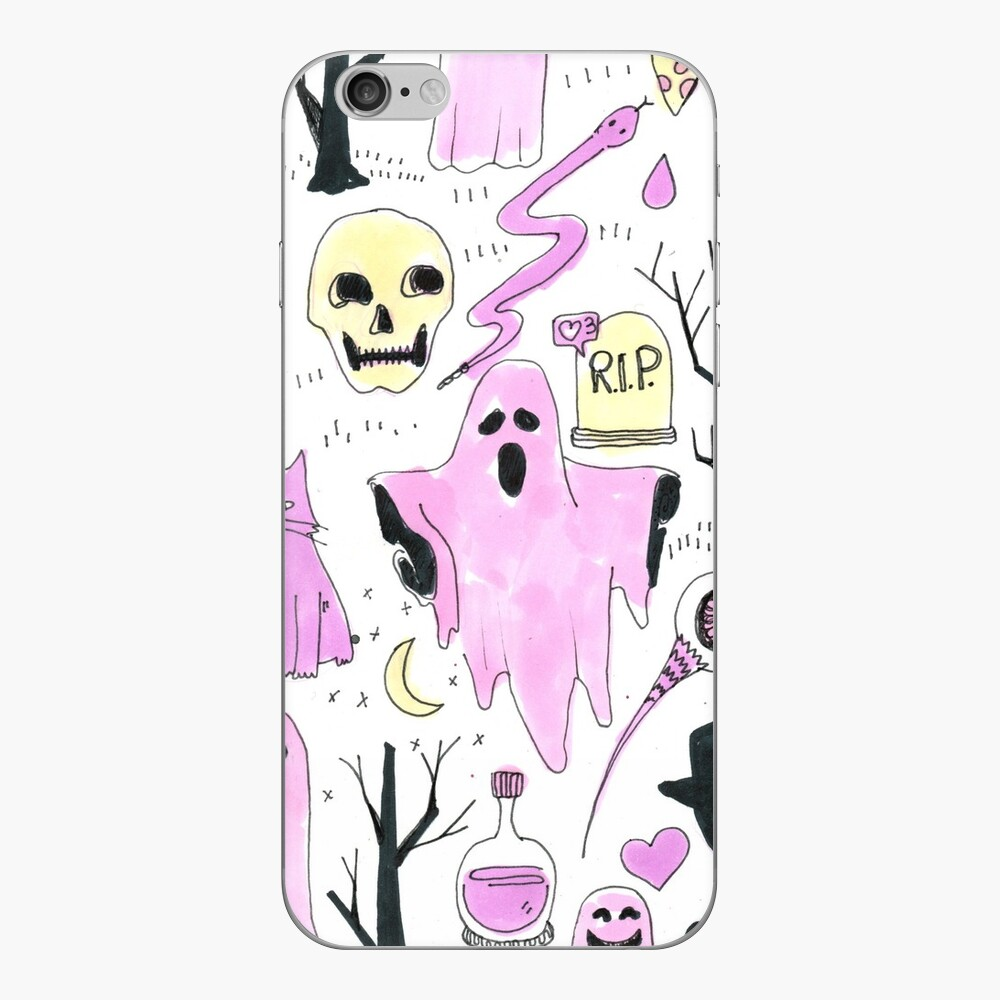 ghost aesthetic iPhone Cases & Covers
