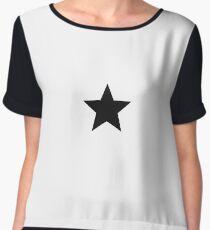 stars Chiffon Top
