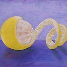 Lemon Peel Twist by emilypageart