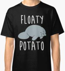 Manatee Floaty Potato Domestic Animal Classic T-Shirt