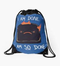 Toast Drawstring Bag