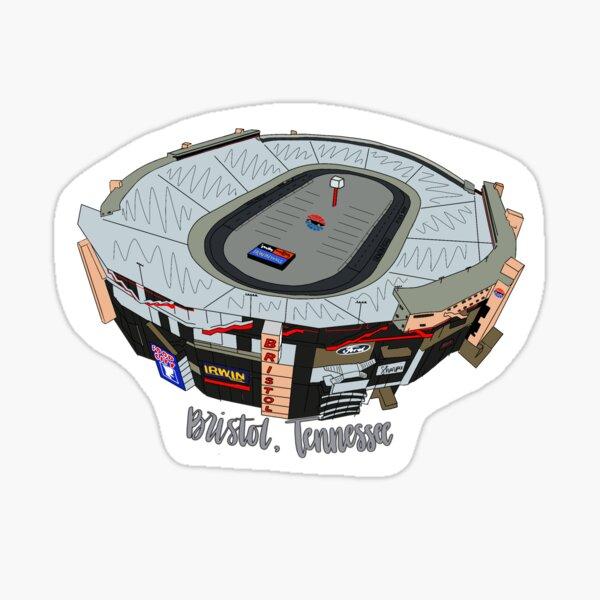 Bristol Motor Speedway Sticker Sticker