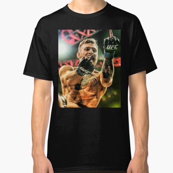 Conor McGregor Middle Finger Design Classic T-Shirt