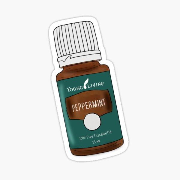 Etiqueta engomada del aceite esencial Pegatina