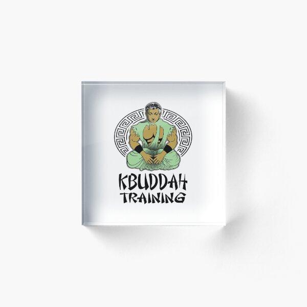 KBuddah Training Acrylic Block