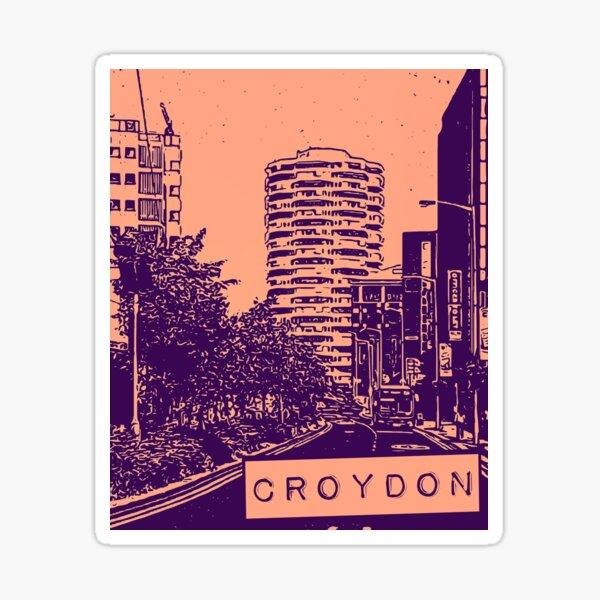No 1 Croydon Sticker