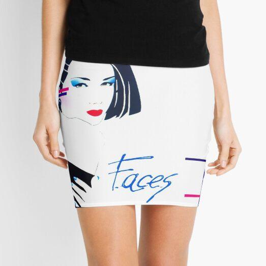 Clio -  faces 80s italo disco underground Mini Skirt