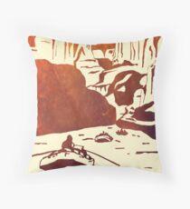 Colorado River Rafting Floor Pillow