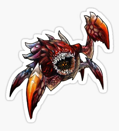 The Devil in the Dark Sticker