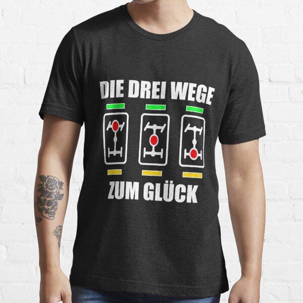 DIE DREI WEGE ZUM GLÜCK Differentialsperren Essential T-Shirt