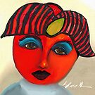 Red Tomato Face by Sarah Curtiss