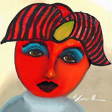 Red Tomato Face by GraceArt
