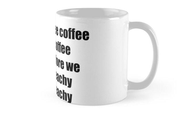 mr g - coffe coffee coffee before we teachy teachy by ella cashman