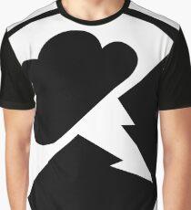 Black Interlucid Logo Graphic T-Shirt