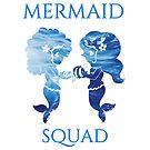 Mermaid Squad by Delpieroo
