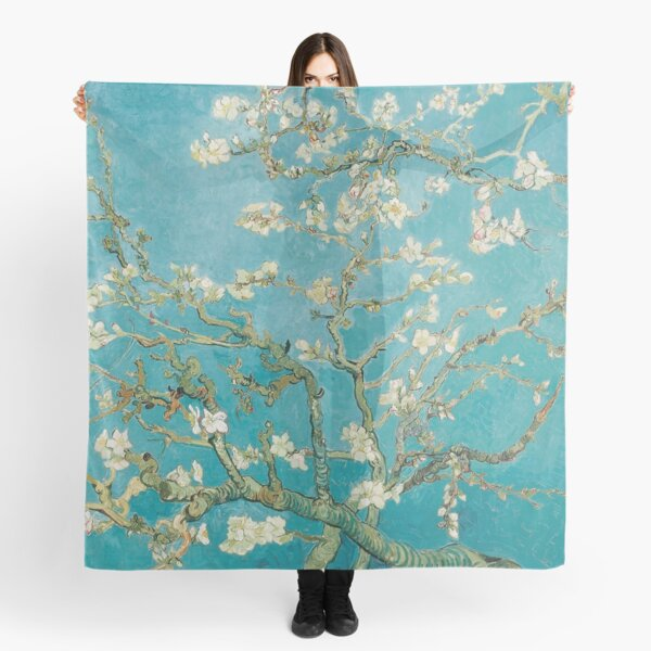 Vincent Van Gogh Almond Blossoms at St. Remy Scarf
