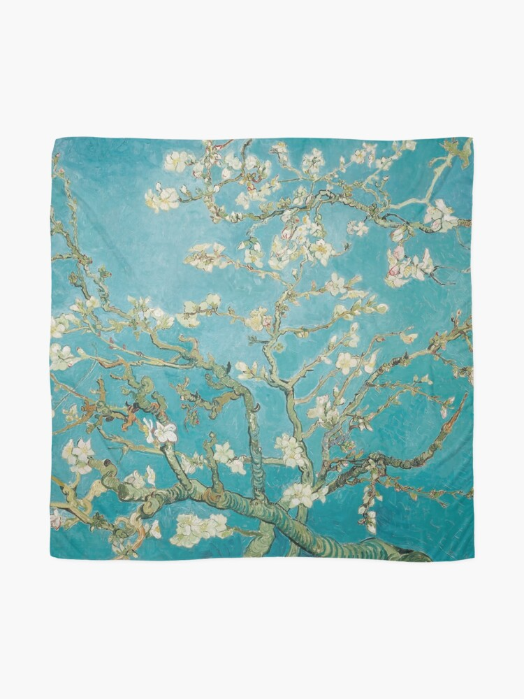 Alternate view of Vincent Van Gogh Almond Blossoms at St. Remy Scarf