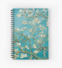 Cuaderno de espiral Vincent Van Gogh Almond Blossoms en St. Remy