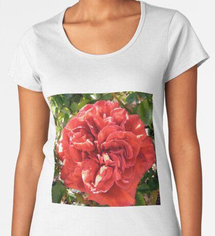 Red Rose Women's Premium T-Shirt
